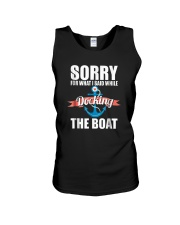Sorry For What I Said While Docking The Boat Shirt Unisex Tank thumbnail