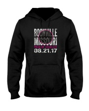 BOONVILLE-MISSOURI PATH OF TOTALITY Hooded Sweatshirt thumbnail