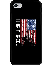 THIS VETERAN DOESN'T KNEEL T SHIRT Phone Case tile