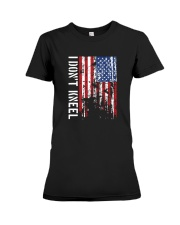 THIS VETERAN DOESN'T KNEEL T SHIRT Premium Fit Ladies Tee thumbnail