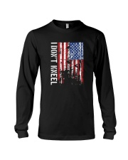 THIS VETERAN DOESN'T KNEEL T SHIRT Long Sleeve Tee thumbnail