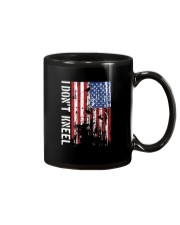 THIS VETERAN DOESN'T KNEEL T SHIRT Mug tile
