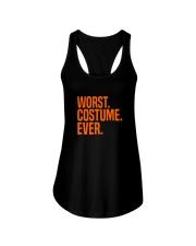 HALLOWEEN WORST COSTUME EVER FUNNY SHIRT Ladies Flowy Tank thumbnail