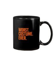 HALLOWEEN WORST COSTUME EVER FUNNY SHIRT Mug thumbnail