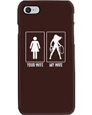 Mens Mens Your Wife My Wife T-Shirt  Phone Case tile