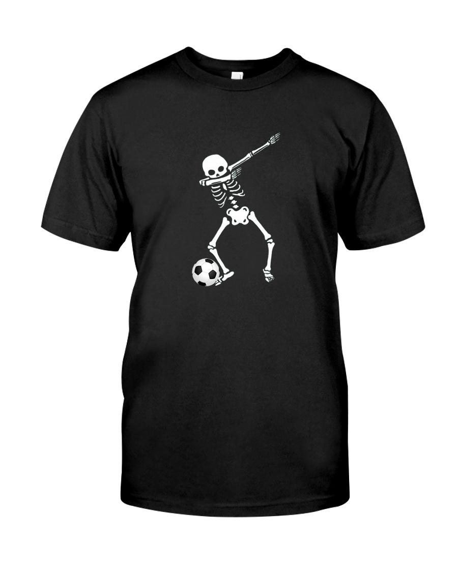 HALLOWEEN DABBING SKELETON SOCCER T-SHIRT Classic T-Shirt