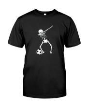 HALLOWEEN DABBING SKELETON SOCCER T-SHIRT Classic T-Shirt front