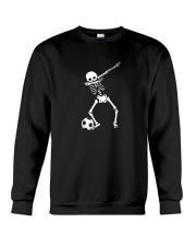 HALLOWEEN DABBING SKELETON SOCCER T-SHIRT Crewneck Sweatshirt thumbnail
