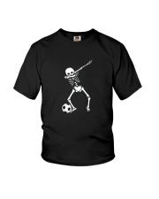 HALLOWEEN DABBING SKELETON SOCCER T-SHIRT Youth T-Shirt thumbnail