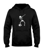 HALLOWEEN DABBING SKELETON SOCCER T-SHIRT Hooded Sweatshirt thumbnail