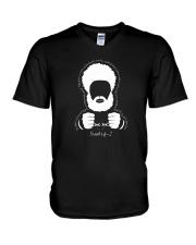 Hebrew Israelite Tribe Jacob Judah Lion Torah  V-Neck T-Shirt thumbnail