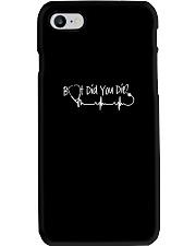 NURSE TSHIRT - BUT DID YOU DIE Phone Case thumbnail