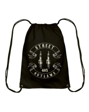 405 Street Outlaws T Shirt Drawstring Bag thumbnail