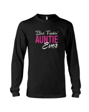 Best Freakin Auntie Ever T-Shirt Long Sleeve Tee thumbnail