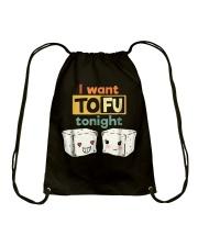 I Want Tofu Tonight Shirts Drawstring Bag thumbnail