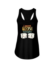 I Want Tofu Tonight Shirts Ladies Flowy Tank thumbnail