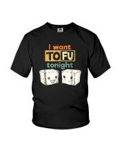 I Want Tofu Tonight Shirts Youth T-Shirt thumbnail