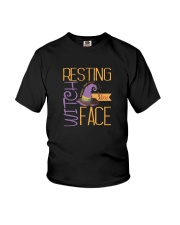 RESTING WITCH FACE SHIRT Youth T-Shirt thumbnail