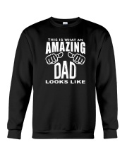 This is What an Amazing Dad Looks Like Shirts Crewneck Sweatshirt thumbnail