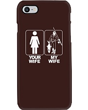 MENS YOUR WIFE MY WIFE FISHING T SHIRT Phone Case thumbnail