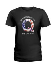 Q-anon Where We Go One We Go All Shirt Ladies T-Shirt thumbnail