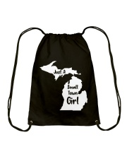 Just A Small Town Girl Shirt Drawstring Bag thumbnail