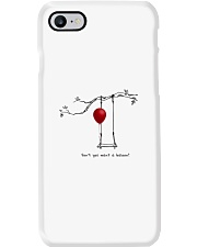 RED BALLOON HORROR HALLOWEEN T-SHIRT Phone Case thumbnail