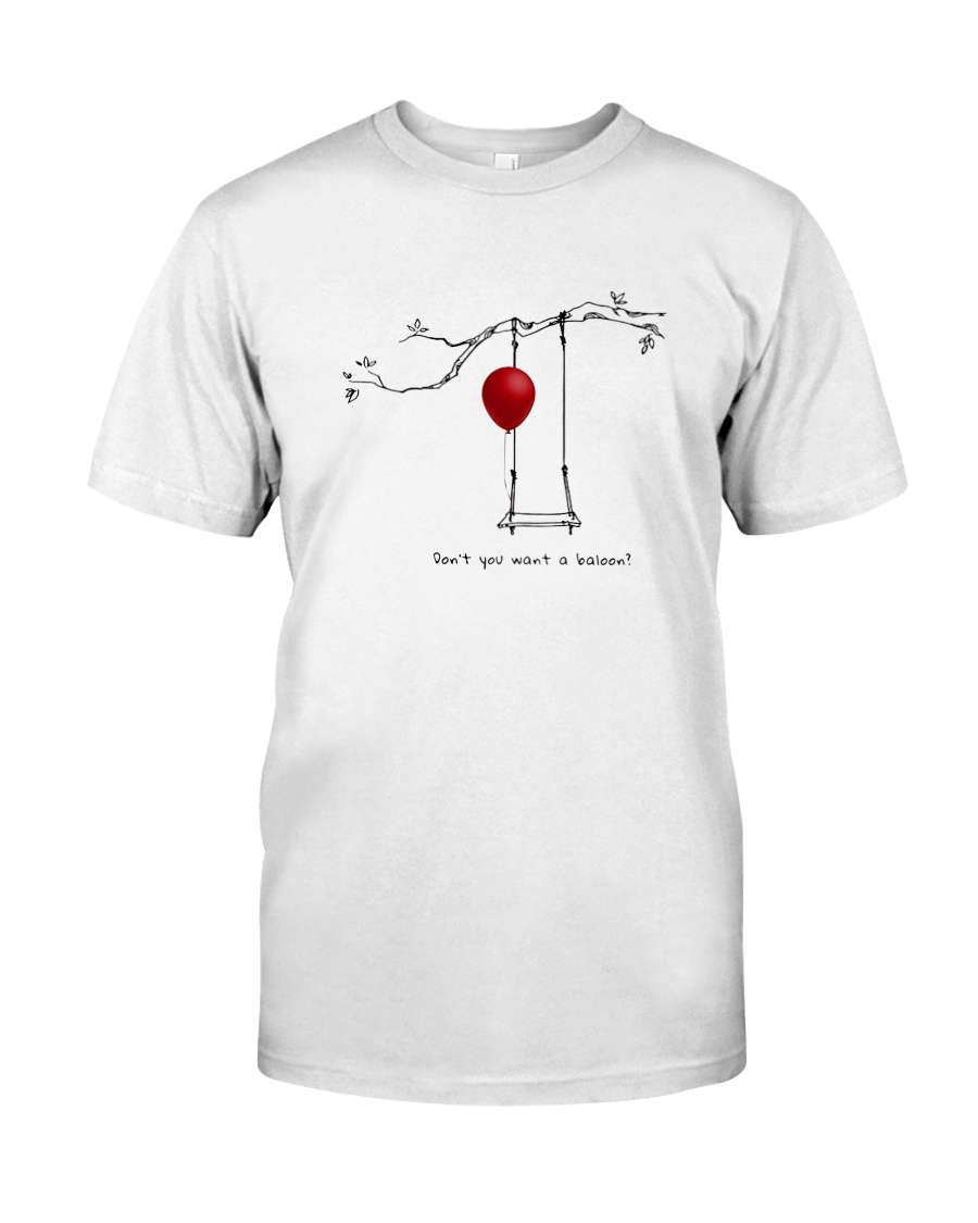RED BALLOON HORROR HALLOWEEN T-SHIRT Classic T-Shirt