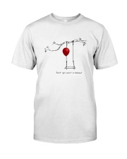 RED BALLOON HORROR HALLOWEEN T-SHIRT Classic T-Shirt front