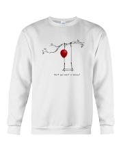 RED BALLOON HORROR HALLOWEEN T-SHIRT Crewneck Sweatshirt thumbnail