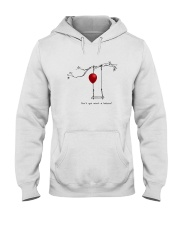 RED BALLOON HORROR HALLOWEEN T-SHIRT Hooded Sweatshirt thumbnail
