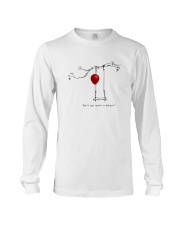 RED BALLOON HORROR HALLOWEEN T-SHIRT Long Sleeve Tee thumbnail