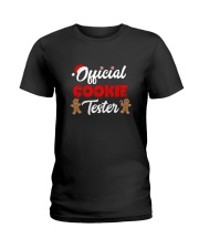 Official Cookie Tester Shirt  Ladies T-Shirt thumbnail