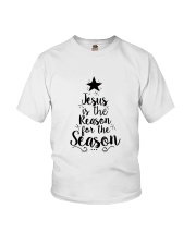 Jesus is the Reason for the Season TShirt Youth T-Shirt tile