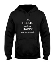 Horses Make Me Happy You Not So Much TShirt Hooded Sweatshirt tile