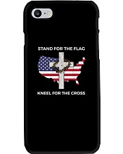 PATRIOTIC STAND FOR THE FLAG KNEEL SHIRT Phone Case thumbnail