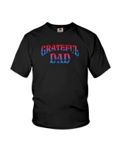 Grateful Dad Shirt Youth T-Shirt thumbnail