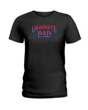 Grateful Dad Shirt Ladies T-Shirt thumbnail