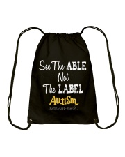 See The Able Not The Label Shirt Drawstring Bag thumbnail
