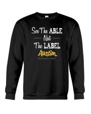 See The Able Not The Label Shirt Crewneck Sweatshirt thumbnail