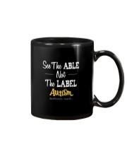 See The Able Not The Label Shirt Mug thumbnail