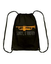 Sorry I Tooted Shirt Drawstring Bag thumbnail