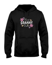BEST GRAMMY EVER FLORAL T-SHIRT Hooded Sweatshirt thumbnail