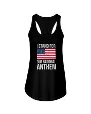 I STAND FOR OUR NATIONAL ANTHEM SHIRT Ladies Flowy Tank thumbnail