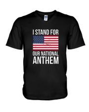 I STAND FOR OUR NATIONAL ANTHEM SHIRT V-Neck T-Shirt thumbnail