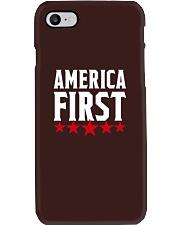 AMERICA FIRST T-SHIRT Phone Case thumbnail