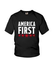 AMERICA FIRST T-SHIRT Youth T-Shirt thumbnail