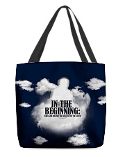 In The Beginning When God Created The Heavens All-over Tote thumbnail