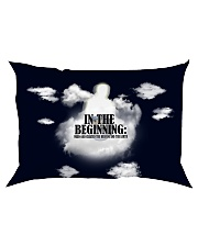In The Beginning When God Created The Heavens Rectangular Pillowcase thumbnail