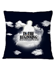 In The Beginning When God Created The Heavens Square Pillowcase thumbnail